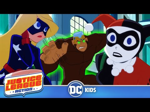 Justice League Action | Chimping Around | DC Kids