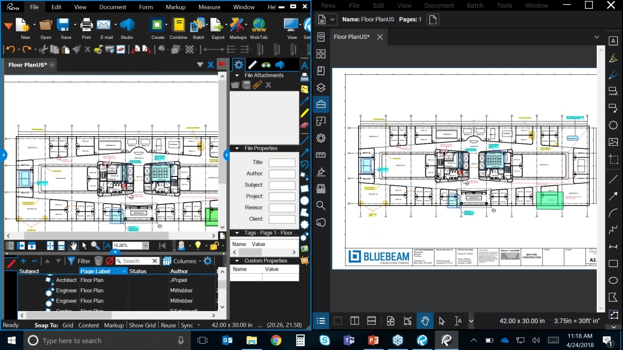8 Features in Bluebeam Revu 2018 You Need to Know | U S  CAD