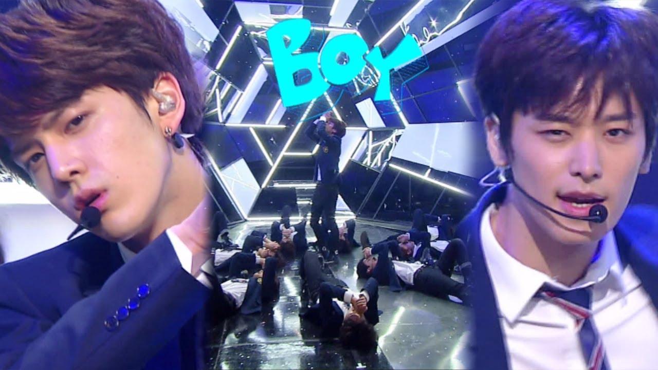 《Debut Stage》 THE BOYZ(더보이즈) - Boy(소년) @인기가요 Inkigayo 20171210