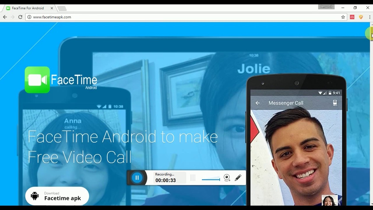 New} facetime for android free download basictricks.