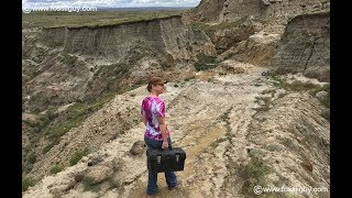 Dinosaur Dig in the Hell Creek Formation with Paleoadventures