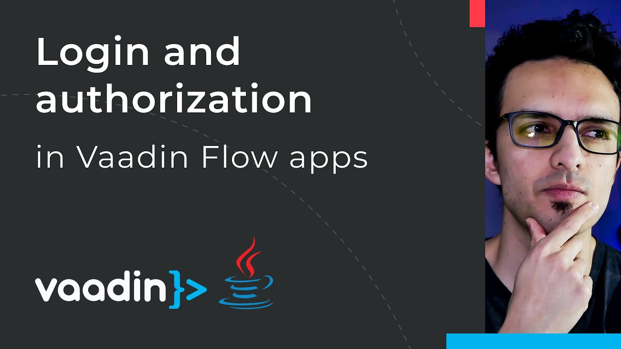 Authentication and authorization with Vaadin Flow