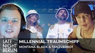 MontanaBlack & Tanzverbot reagieren auf Millennial Traumschiff 😱 Palina vloggt | Late Night Berlin
