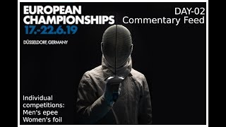 European Championships Day02 - commentary feed