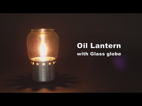 Oil (paraffin) Lantern with Glass Globe