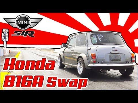 Honda B16a Engine Swap into a 1979 MINI
