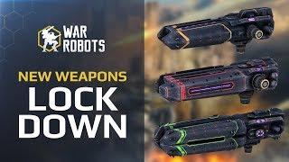 Halo, Corona, Glory trailer. Lock down, rip and tear! — War Robots