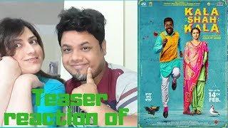 #KalaShahKala Kala Shah Kala|Official Teaser Reaction | 14th Feb|Foreigner VS Indian Reaction|