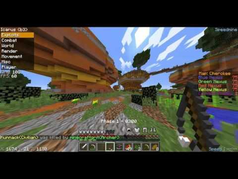 Minecraft Let´s Hack #2 | Annihilation | MC-Cosmo.net | Icarus B3 |