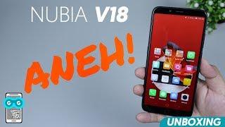 Smartphone NUBIA TERBARU KOQ ANEH! Unboxing Nubia V18 Indonesia