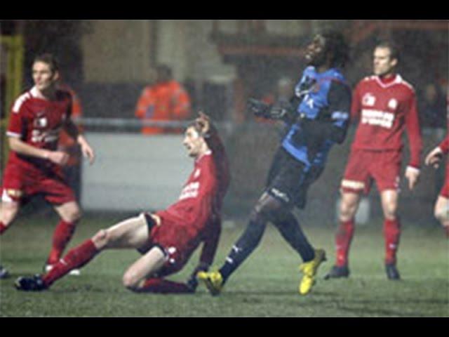 2009-2010 - KV Kortrijk - Club Brugge - GOAL Dorge Kouemaha