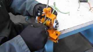 Нове Помаранчеве керівництво 1 інструмент' зачищення проводів БС-001 ручної стенд тримач мідний кабель провід