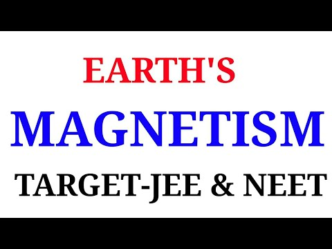 EARTH'S MAGNETISM IN HINDI