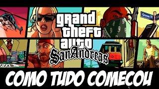 GTA San Andreas PS4 - O Início