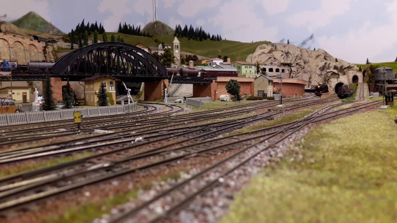 Plastico ferroviario Renzo Gardella - YouTube