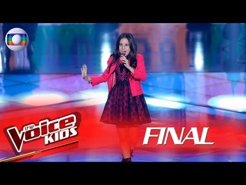 Valentina Francisco canta 'Tempo Perdido' no The Voice Kids Brasil - Final