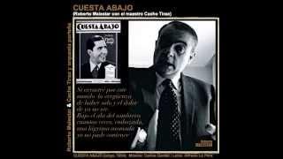 CUESTA ABAJO - tango - Roberto Malestar con Cacho Tirao y orquesta / Tango de Gardel y Le Pera