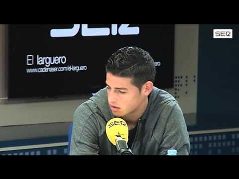 "James Rodríguez: ""En el descanso del Barça dije a Cristiano: vamos a atacarles"". Cadena SER"
