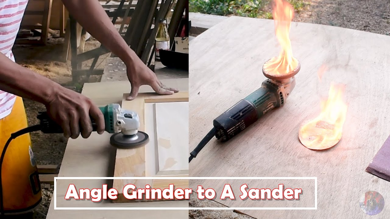 Download How to convert an Angle Grinder to a Sander   Paano gumamit ng Sander   Philippine DIY Tools