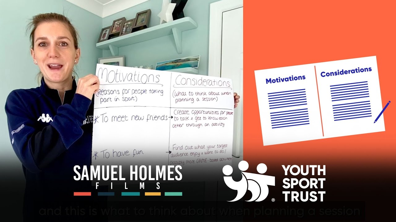 YOUTH SPORT TRUST | Young Coaches and Activators Video