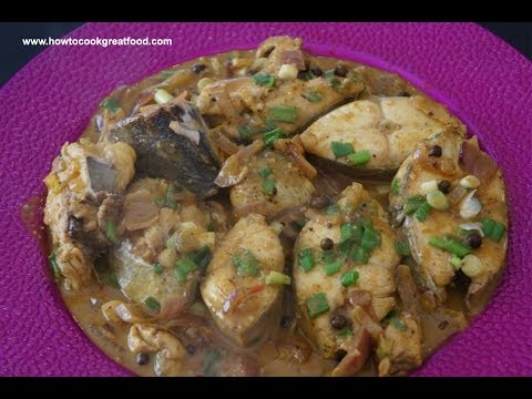 Jamaican Food Fish Coconut Curry Recipe Kingfish Steaks Allspice Pepper Sauce Super Easy Youtube