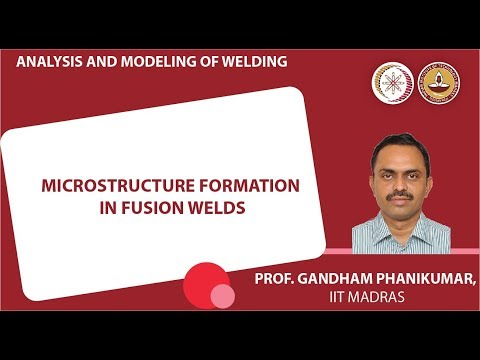 Microstructure Formation in Welding