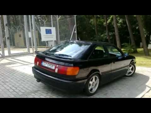 Audi 80 Coupe 2 8 V6 Youtube