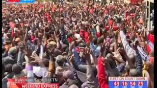 Uhuru sends a message of peaceful campaigns to Kenyans