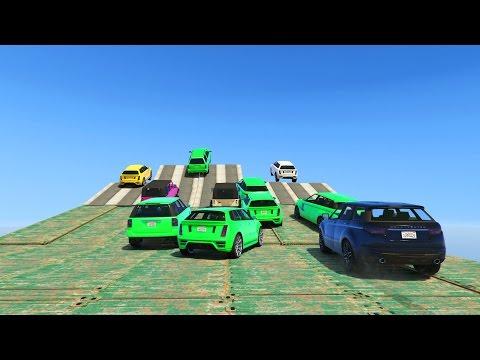 SALTA Y EXPLOTA!!! - CARRERA GTA V ONLINE - GTA 5 ONLINE