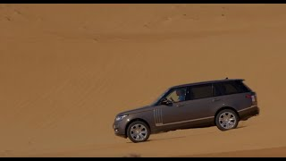 Range Rover SVAutobiography Takes On Sand Driving