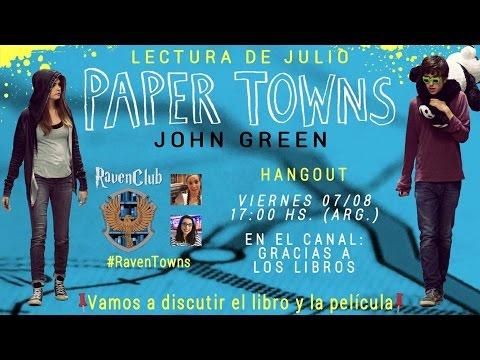 Ravenclub | Discutimos 'Paper Towns' y su película