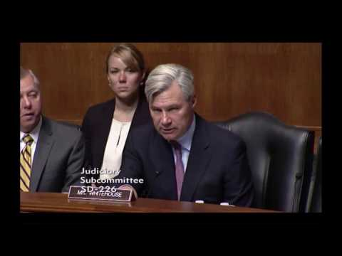 Senator Sheldon Whitehouse questions Doctor Panel on Medical Cannabis