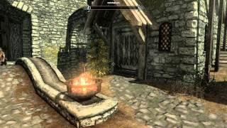 Skyrim Баг мерцание воды, дыма, огня и зеленая сетка в Skyrim 1 часть