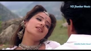 Aankhon Mein Neende ( Sanam -1997 ) HD HQ Jhankar Songs | Alka Yagnik, Kumar Sanu |