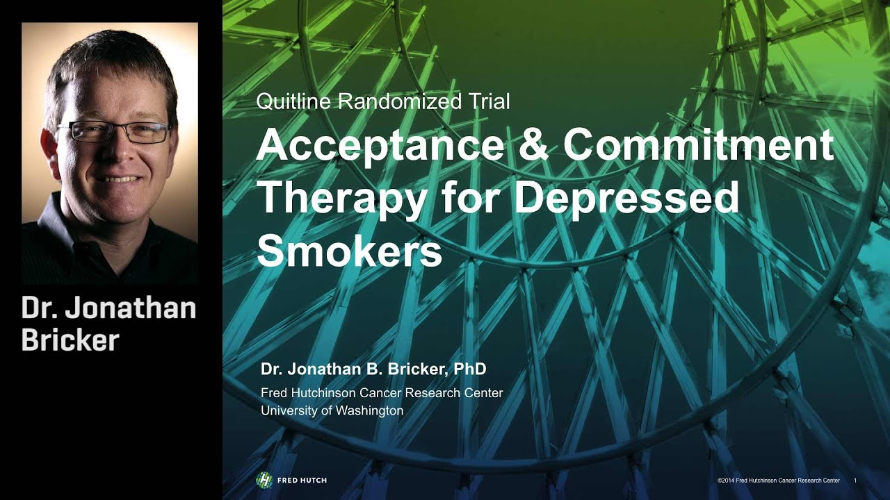 Acceptance and mitment Therapy for Depressed Smokers