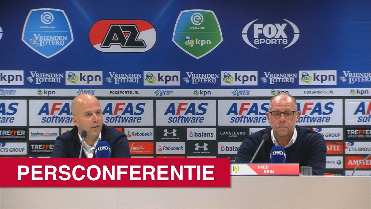 Persconferentie AZ - RKC Waalwijk   Eredivisie