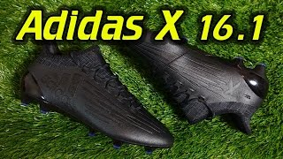 Adidas X 16.1 (Dark Space Pack) - Review + On Feet