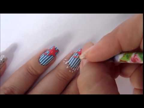 Starfish Nail Art Youtube