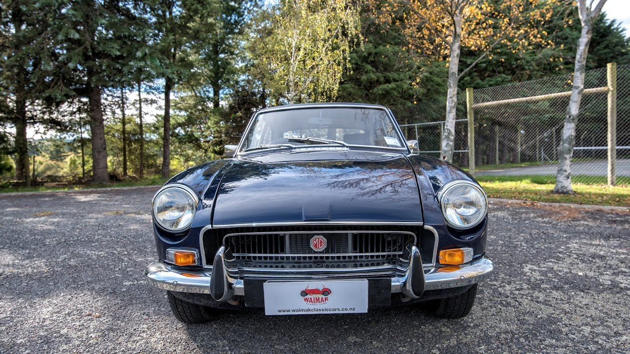 Mgb Gt Video Waimak Classic Cars New Zealand Youtube