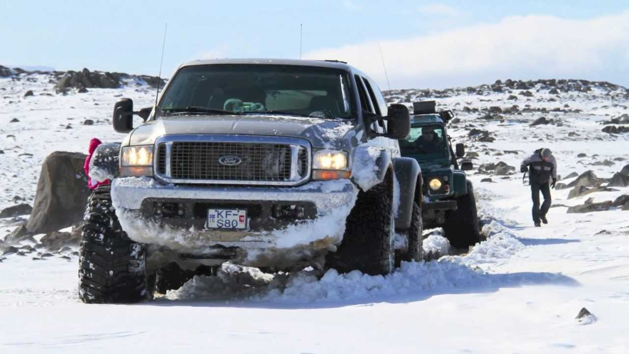 Awesome Off-Road 4x4 Trucks in Iceland [HD] - YouTube