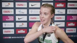 SPAR British Athletics Indoor Championships - Keely Hodgkinson
