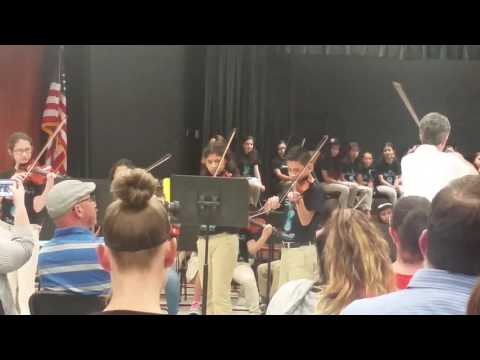 Carter lomax middle school orchestra Cripple Creek