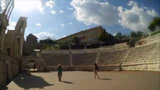 Plovdiv Roman Theater---USA Evangelist Angela Cummings