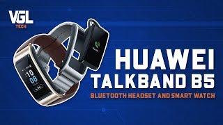 Unboxing Huawei Talkband b5 bluetooth headset and smart watch