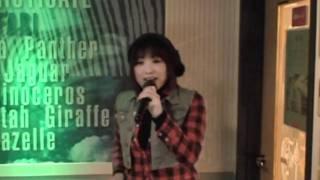 愛里がカラオケで「おんぶおばけ」を歌ってみました。 結構しんどくて大変でした(・ω・;A)