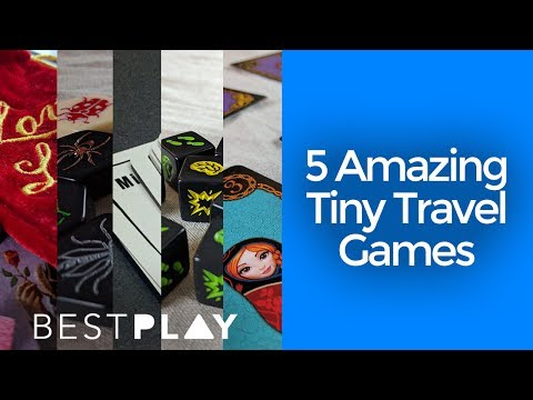 5 Tiny Board Games You Can Take Anywhere