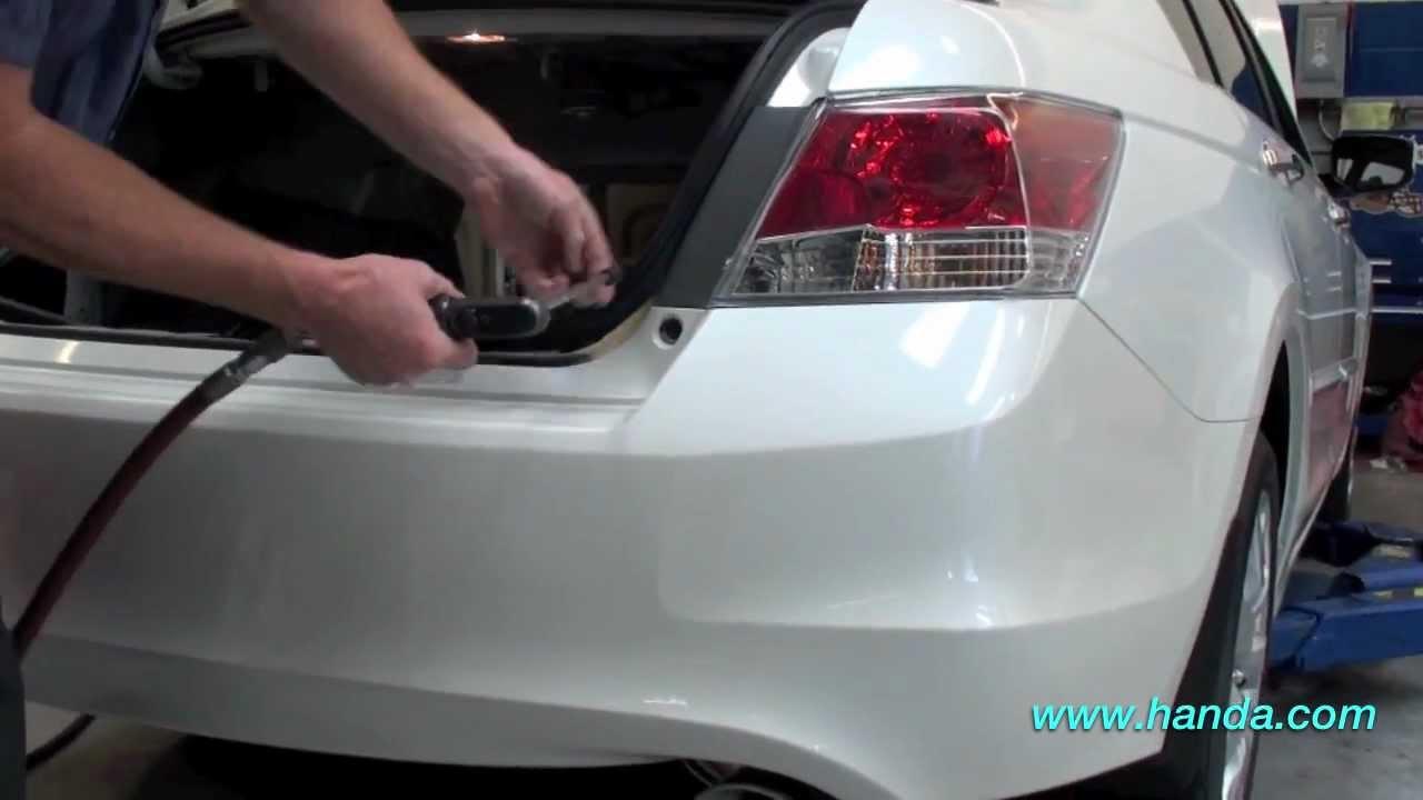 2012 Honda Accord Wiring Diagram Mim Tele Back-up Sensor Installation (honda Answers #77) - Youtube