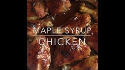 yummy and easy maple syrup chicken
