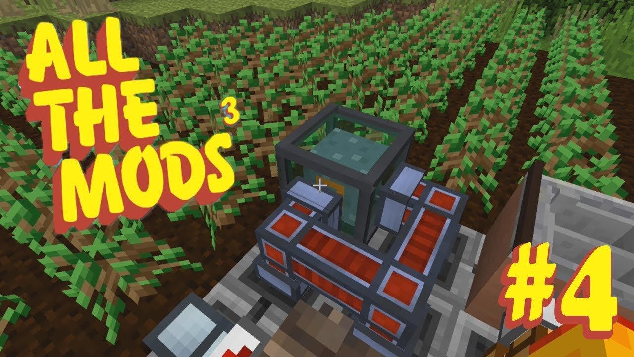 TREE FARM - All the Mods 3 #4! (Minecraft Modpack)