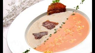 Receta de crema fría de tomates y champiñones – Karlos Arguiñano